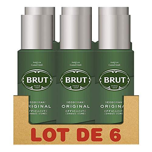 Brut Original Déodorant Homme Spray sans Sels d'Aluminium,...