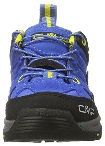 C.P.M. Rigel, Chaussures de Randonnée Basses Mixte Enfant Bleu (Cobalto)