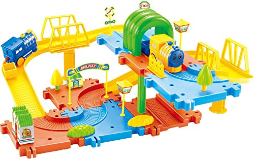Saffire Classic Toy Train Set 15, Multi Color