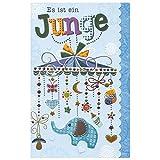 Susy Card 40009865 Grußkarte zur Geburt/ Junge