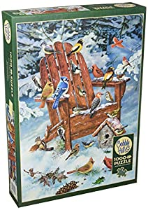 Cobblehill 80069 - Puzzle de 1000 pájaros Adirondack