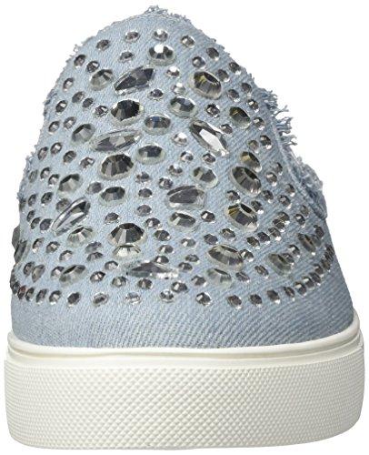 ALDO Damen Hiliwiel Slip on Sneaker, Blau (Denim), 40 EU