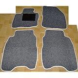 HONDA CIVIC 2006 en adelante alfombras gris de coche, set completo de alfombras Alfombrillas a medida blanco