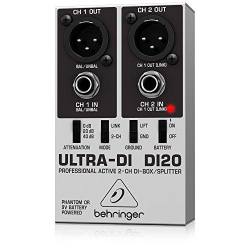 DI BOX/SIGNAL SPLITTER, DI-20