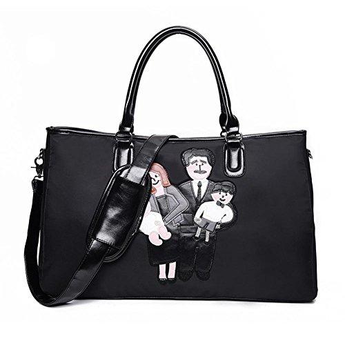 GBT Einkaufstasche Große Trompete-Tasche black large black