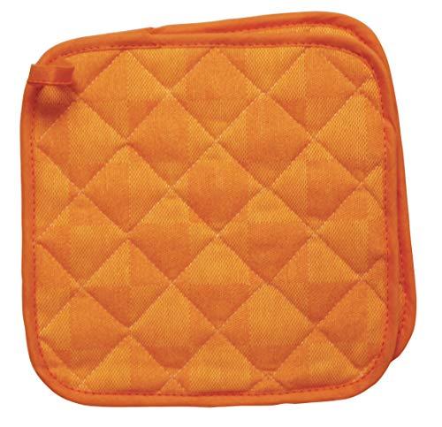 Excelsa Set Presine, Cotone, Arancione, 22x19, 2 unità