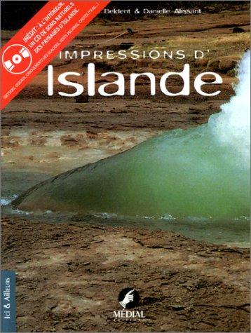 Impressions d'Islande (livre bilingue)