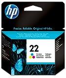 HP 22 Tri-color Original Ink Cartridge (C9352AE)