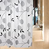 liuhoueDruck shower vorhang Peva dusche vorhang Bad vorhang-A 180cm*180cm