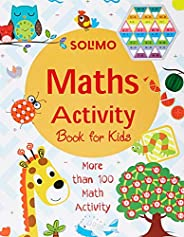 Amazon Brand - Solimo Maths Activity Book For 3-5 Year Old Kids