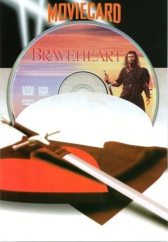 Braveheart - Moviecard (Glückwunschkarte inkl. Original-DVD)