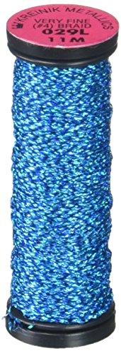 Kreinik Nr. 4sehr feine Metallic-Craft, 12-Yard, Electric Blue