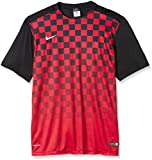 Nike Herren Jersey Precision III, Black/red, S, 644626-016