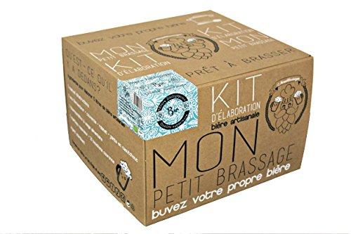 Mon Petit Brassage - Kit Brassage Bière Biologique - Bio Pilsen Ale - Mode d'Emploi FR/EN - Bière artisanale pour brasser à la maison