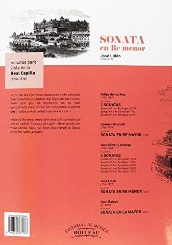 Sonata en Re menor - B.3861
