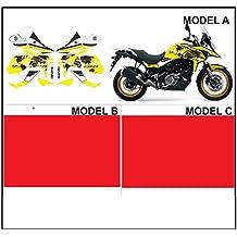 Kit adesivi decal stikers V-STROM 650 + XT 2017 WORLD MOD.A YELLOW MOTO