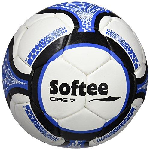 Softee Equipment 0000518 Balón de Fútbol, Blanco, S