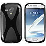 mumbi X-TPU Schutzhülle Samsung Galaxy S3 mini Hülle schwarz