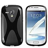 mumbi X-TPU Schutzhülle für Samsung Galaxy S3 mini Hülle schwarz
