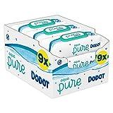 Dodot Aqua Pure Toallitas Bebé con 99% Agua 9 Paquetes, 432 Toallitas