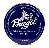 Burgol Cire de chaussure, chaussures wax - nouvelle recette - Bleu, Taille unique