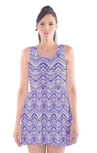 CowCow Damen Kleid Violett Violett Violett