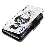 Book Style Flip Handy Tasche Case Schutz Hülle Schale Motiv Etui für HTC One M7 ( 2013 ) - A49 Design11