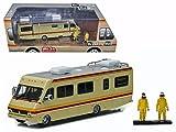 BREAKING BAD Camper Miniatur DieCast MODEL + 2 FIGUREN Walter und Jesse 1/64 Greenlight