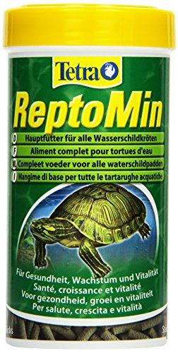 Tetra ReptoMin Hauptfutter (schwimmfähige Futtersticks für Wasserschildkröten), 250 ml Dose