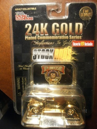 24k-gold-plated-commemorative-stock-rods-big-mac-by-50th-anniversary-nascar