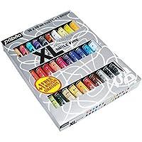Pébéo 920231 Studio XL - Confezione da 30 tubetti di colori a olio fine, da 20 ml, spazzola inclusa