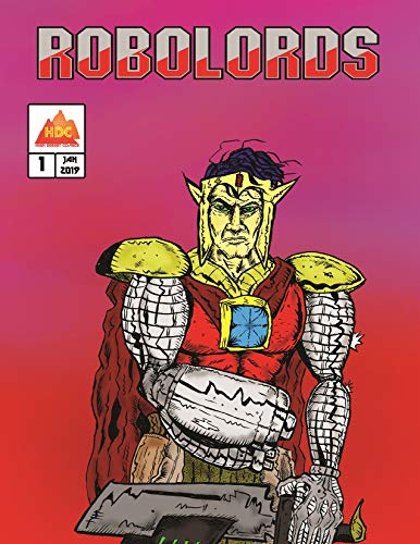 Robolords #1 book cover