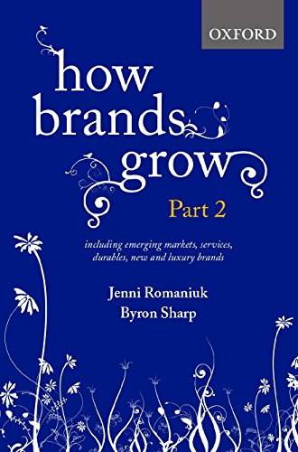 How Brands Grow: Part 2: Emerging Markets, Services, Durables, New and Luxury Brands por Jenni Romaniuk