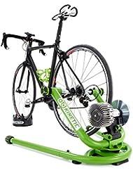 Kinetic rockanrolear inteligente bicicleta entrenador - verde