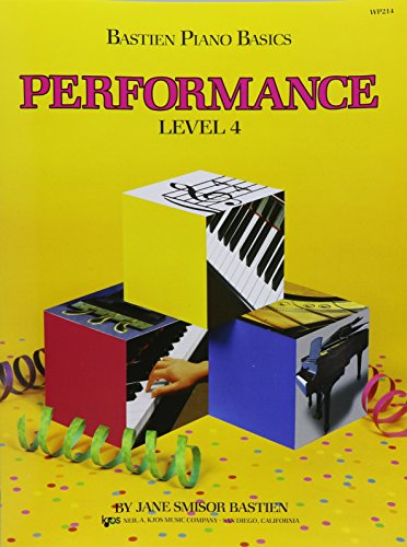 Bastien Piano Basics: Performance Level 4 por Bastien James