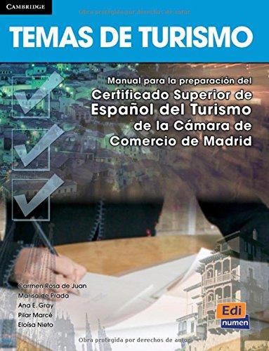 Temas de turismo - Libro del alumno por Marisa De Prada Segovia