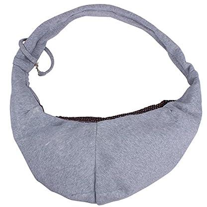 ZeWoo Transport Portable Outdoor Single Shoulder Handbag Soft Cotton Travel Pet Sling Dog Cat Carrier Bag Up To 4kg 2