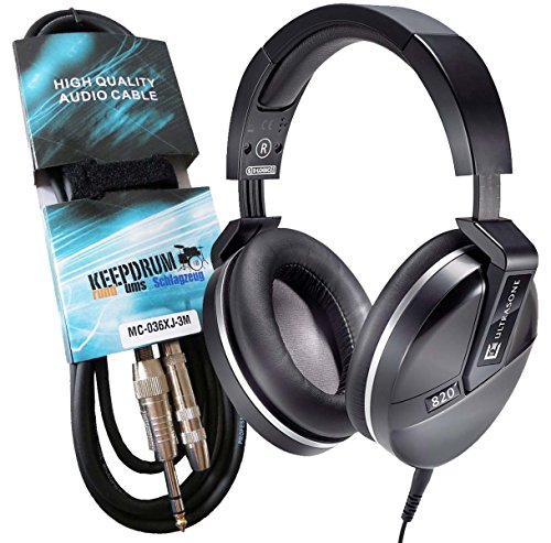 ultrasone-performance-820-noir-hifi-casque-keepdrum-verlangeurngskabel-professionnel-3-m