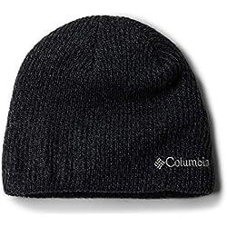 Columbia Whirlibird Watch Cap Beanie Gorro, Unisex, Black/Graphite Marled, Talla única