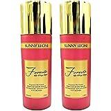 SUNNY LEONE Forever PERFUME BODY SPRAY For Women - 150 Ml (Pack Of 2)