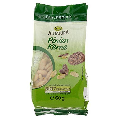 Alnatura Bio Pinienkerne, 3er Pack (3 x 60 g) Test
