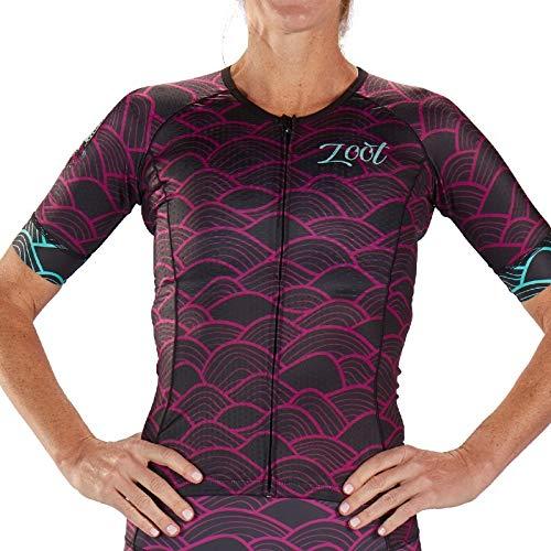 Zoot LTD Tri Aero SS Jersey Women Aloha Größe M 2019 Triathlon-Bekleidung