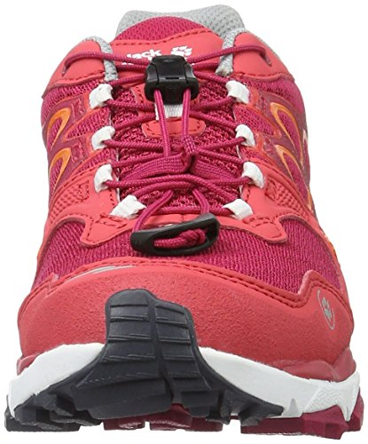 Jack Wolfskin Damen Trail Excite Low W Traillaufschuhe Rot (azalea red)