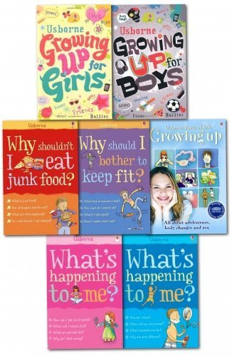What Happening to Me And Growing Up Books Collection Set for Boys and Girls