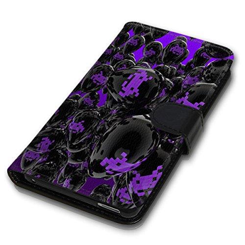 Wallet Book Style Flip Handy Tasche Case Schutz Hülle Schale Motiv Etui für Apple iPhone 6 Plus / 6S Plus - Variante UMV5 Design12 Design 7