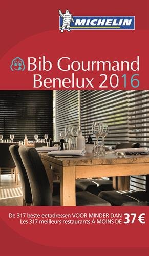 Guide Bib Gourmand Benelux 2016 Michelin