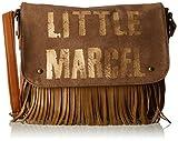 Little Marcel femme Vi04 Sac bandouliere Beige (Beige)