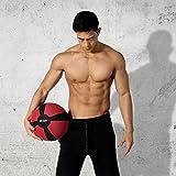Medizinball Gewichtsball von POWRX 1 - 10 kg | versch. Farben (1 kg / Gelb) -