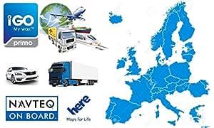 IGO Primo D CAR GPS Navigation Software With EUROPE Maps Micro SD - Igo sd card us map download