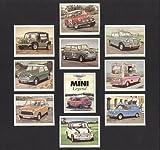 Mini Legends - Monte Carlo Cooper S, Hornet and Elf, Mini Moke, Cooper Car Co Mini, Mini Ice Cream Van, Mini Cooper 1071S, RAC Minivan, Leyland Mini 1000, and Rover Mini Cooper 1.3i - Collectors Cards by Artofwheels